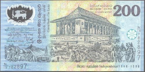 Sri Lanka Polymer Bank Notes