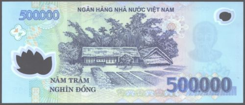 Viet Nam Back 500 000 Dong