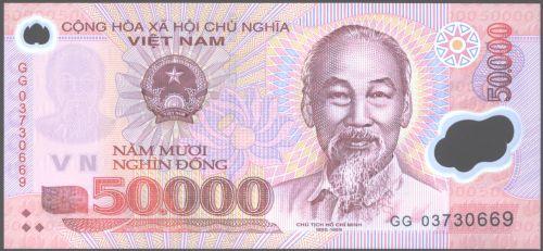 Viet Nam - Front - 50.000 Dong
