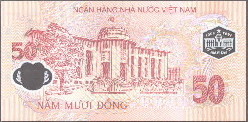 Viet Nam - P New - Back - 50 Dong