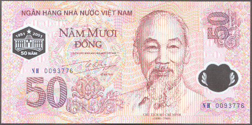 Viet Nam - P New - Front - 50 Dong